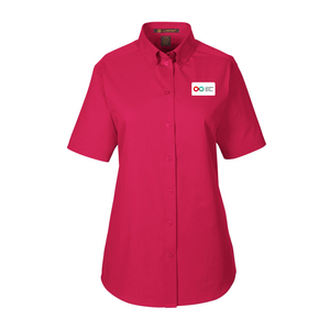 Ladies Short Sleeve Shirt - RED