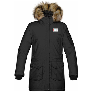 Ladies Explorer Parka - Black (LOGISTICS)