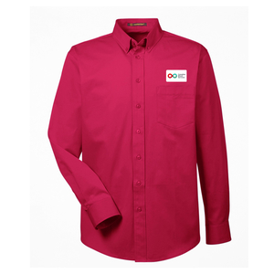 Mens Long Sleeve Shirt - RED