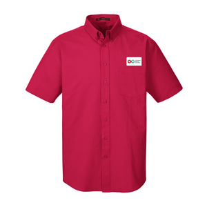 Mens Short Sleeve Shirt - RED