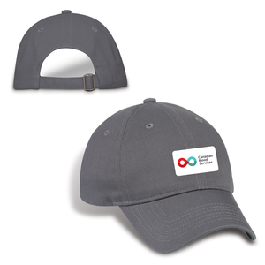 Cotton Twill Cap - Grey
