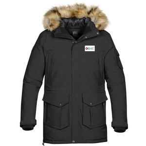 Mens Explorer Parka - Black (LOGISTICS)