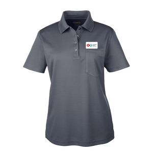 Ladies Polo with Pocket - CHARCOAL