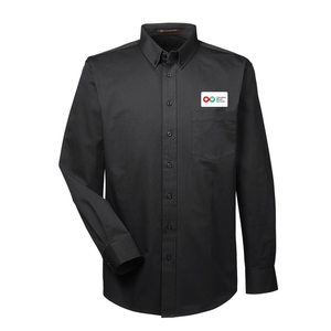 Mens Long Sleeve Shirt - BLACK