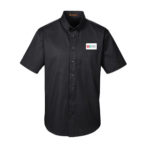 Mens Short Sleeve Shirt - BLACK