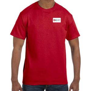 Mens Short Sleeve T-Shirt - RED