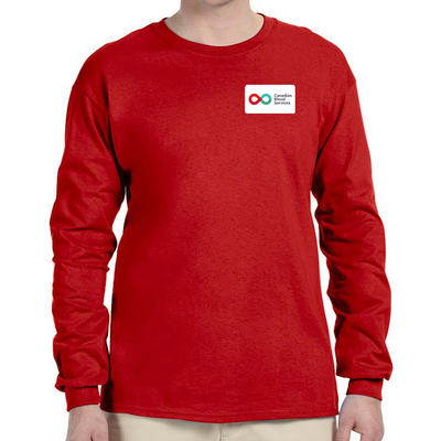 Unisex Long Sleeve T-Shirt - RED